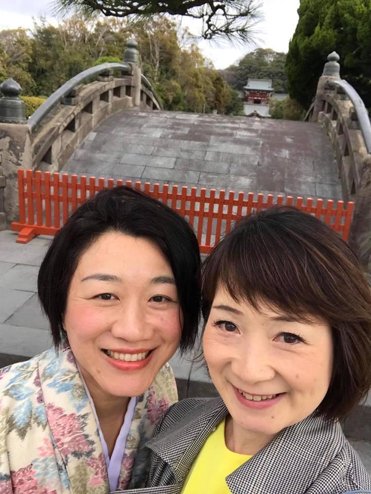 着物で憧れの鎌倉を歩く!!_a0126418_22272186.jpg