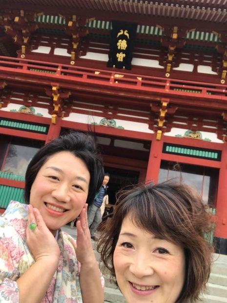 着物で憧れの鎌倉を歩く!!_a0126418_22320482.jpg