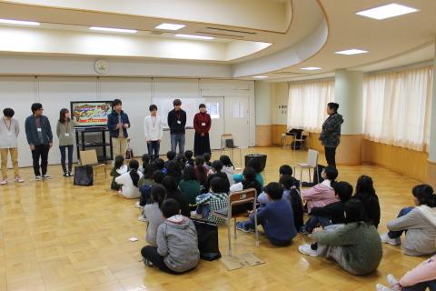 新潟市立黒崎南小学校においてワークショップを行いました。_c0167632_12101026.jpg