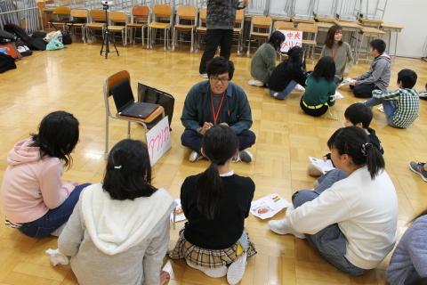 新潟市立黒崎南小学校においてワークショップを行いました。_c0167632_12102208.jpg