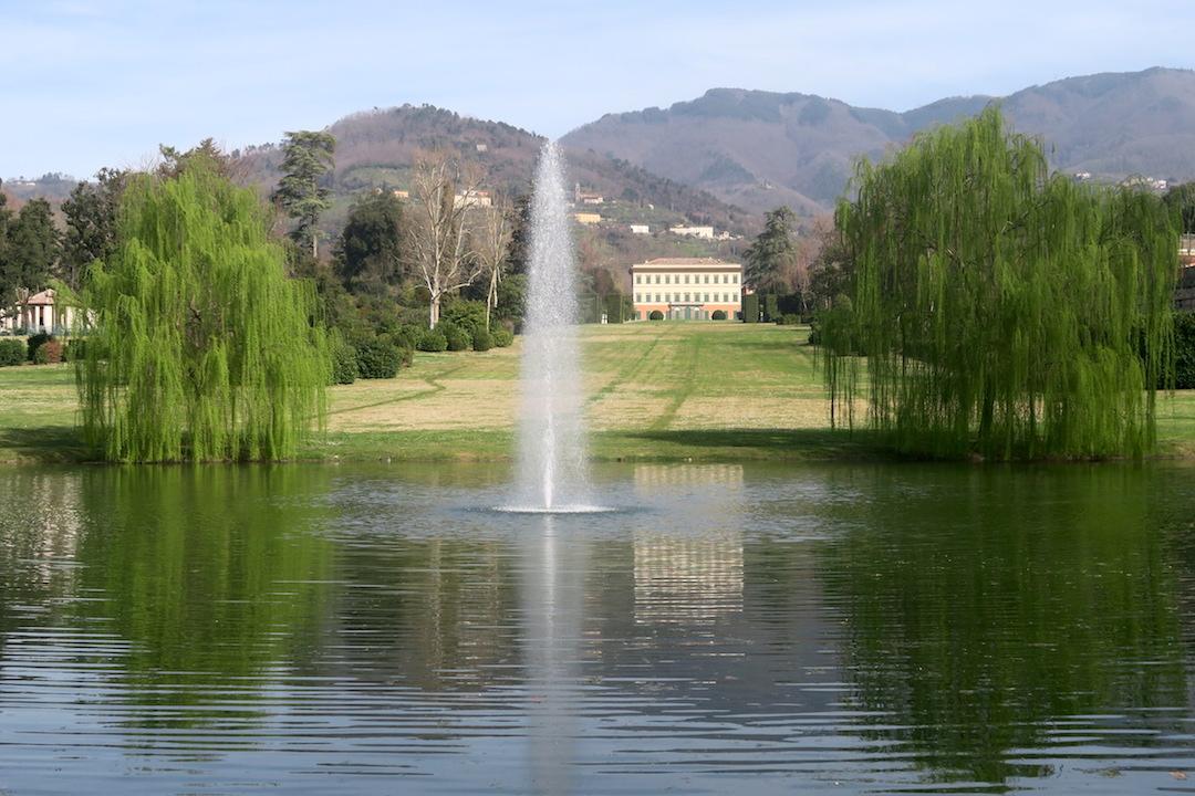 美しい椿の小道 庭園の景、ルッカ マルリア邸_f0234936_822197.jpg