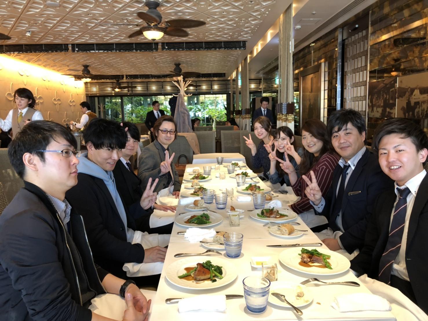 株式会社Fサポート2月度達成会 in お洒落フレンチ!!_b0191255_15230726.jpg