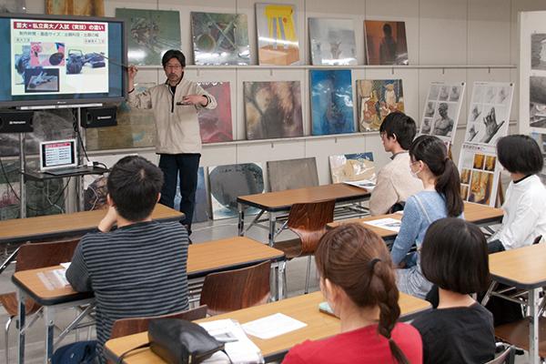 実技体験イベントと受験相談会が行われました_f0227963_17362992.jpg