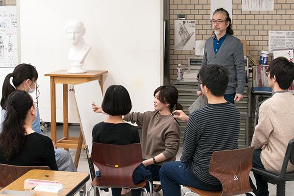 実技体験イベントと受験相談会が行われました_f0227963_17365733.jpg