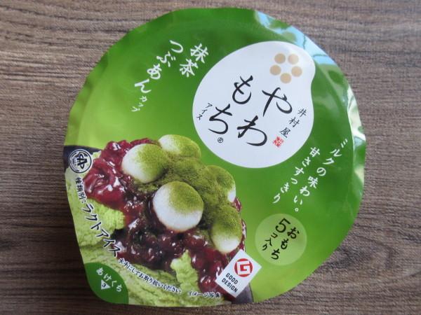 やわもちアイス 抹茶つぶあんカップ@井村屋_c0152767_22204198.jpg