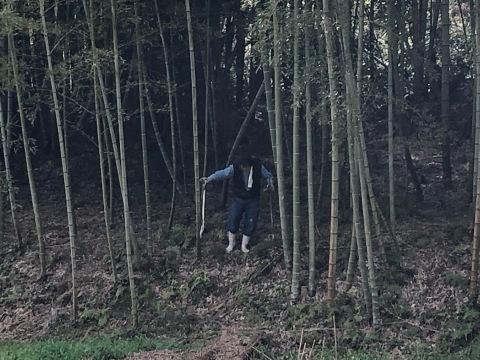 竹の子取りの翁_d0073371_18420261.jpg
