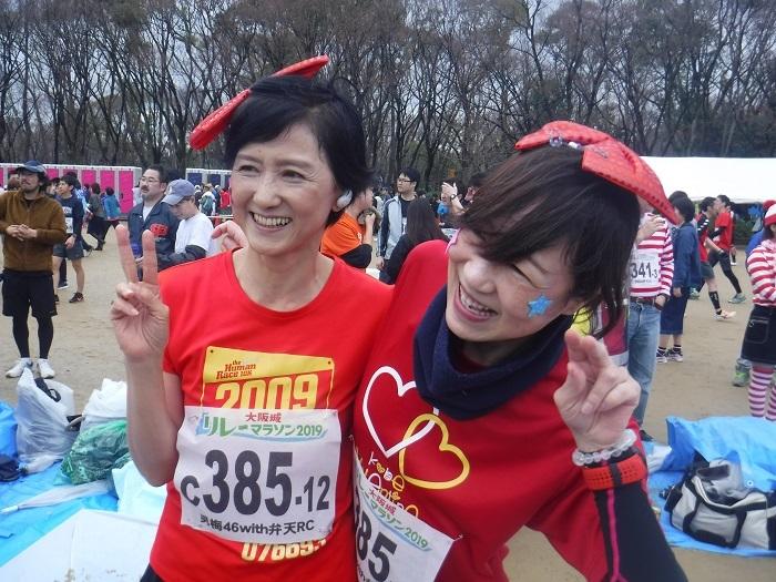 ◆大阪城リレーマラソン2019 ~いいタイムで打上げも盛り上がる♪~_f0238779_16174501.jpg