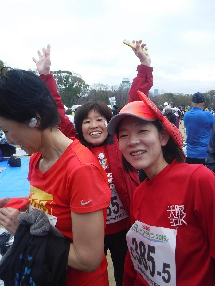 ◆大阪城リレーマラソン2019 ~いいタイムで打上げも盛り上がる♪~_f0238779_16195041.jpg