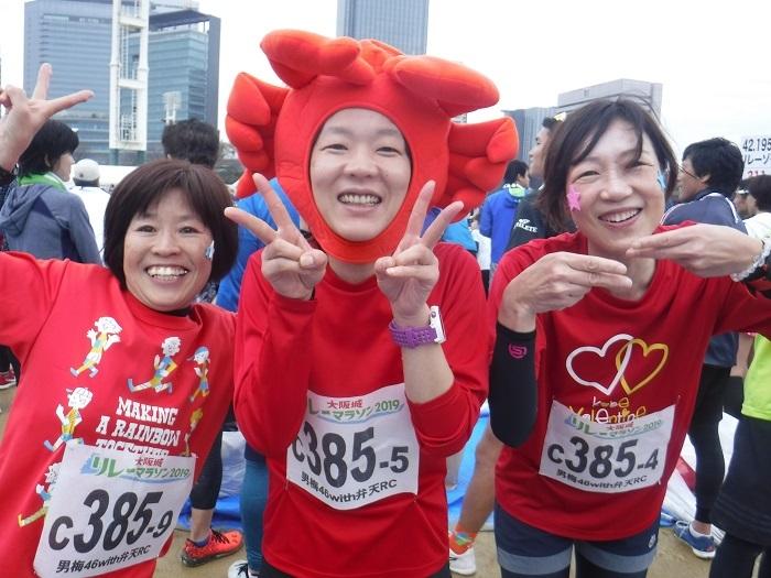 ◆大阪城リレーマラソン2019 ~いいタイムで打上げも盛り上がる♪~_f0238779_16213105.jpg
