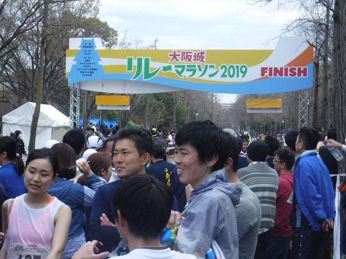 ◆大阪城リレーマラソン2019 ~いいタイムで打上げも盛り上がる♪~_f0238779_16225130.jpg