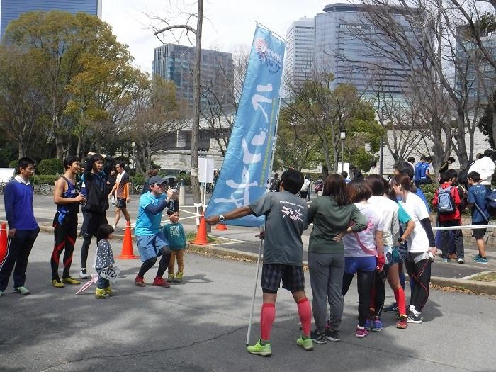 ◆大阪城リレーマラソン2019 ~いいタイムで打上げも盛り上がる♪~_f0238779_16230757.jpg