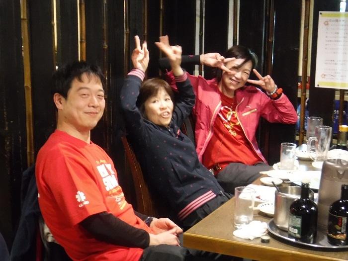◆大阪城リレーマラソン2019 ~いいタイムで打上げも盛り上がる♪~_f0238779_16325219.jpg