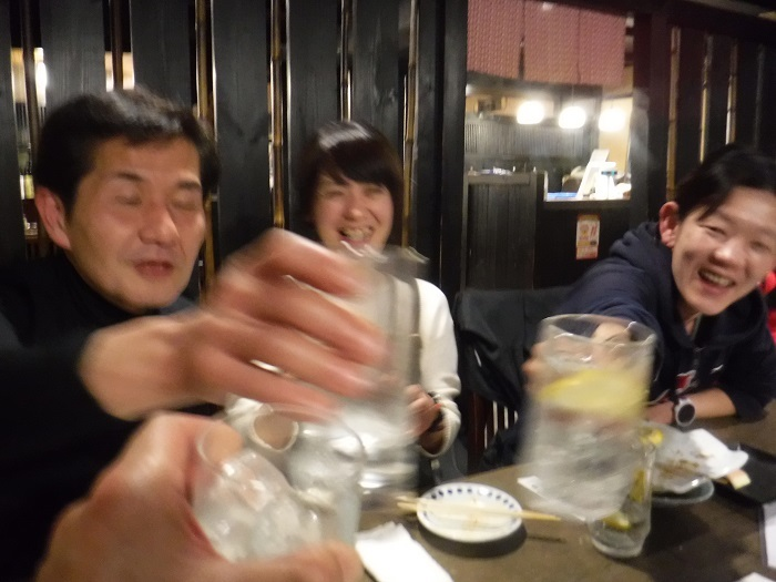 ◆大阪城リレーマラソン2019 ~いいタイムで打上げも盛り上がる♪~_f0238779_16332761.jpg