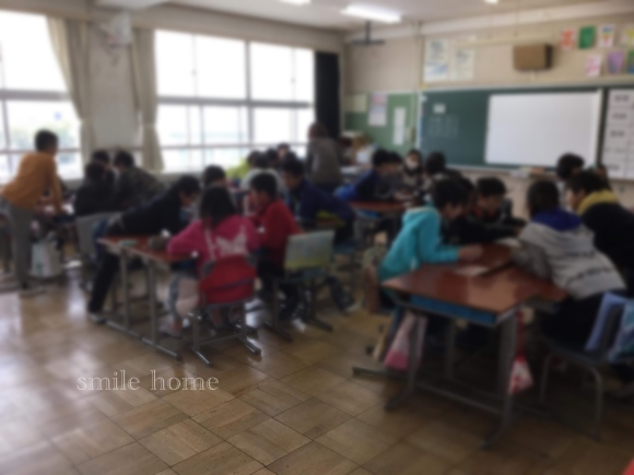 小学校の家庭科で出前授業_e0303386_08553869.jpg