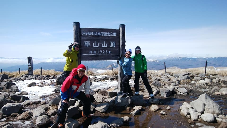 八ヶ岳リトリートハウスFlanのキセキ 登山講習とスキー_e0231387_18550369.jpg