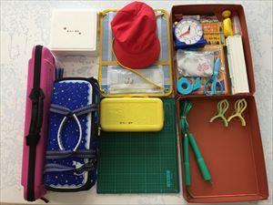 [小学1年生日記 ⑮] 持ち帰った道具の整理♪_a0239890_17335074.jpg