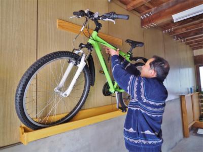 浦佐びしゃもん亭へクロスバイクが入りました!_c0336902_13533152.jpg