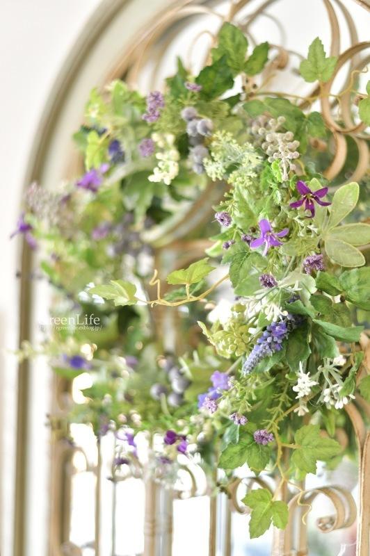 キャベツのお皿に春のお花を♪_f0321522_11013527.jpg