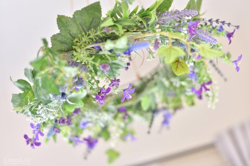 キャベツのお皿に春のお花を♪_f0321522_11015841.jpg