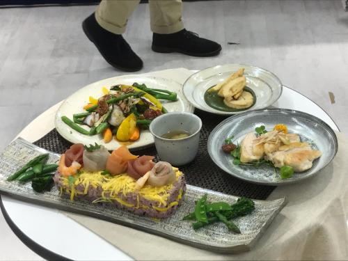 料理教室と盛り付け_d0163247_23512130.jpg