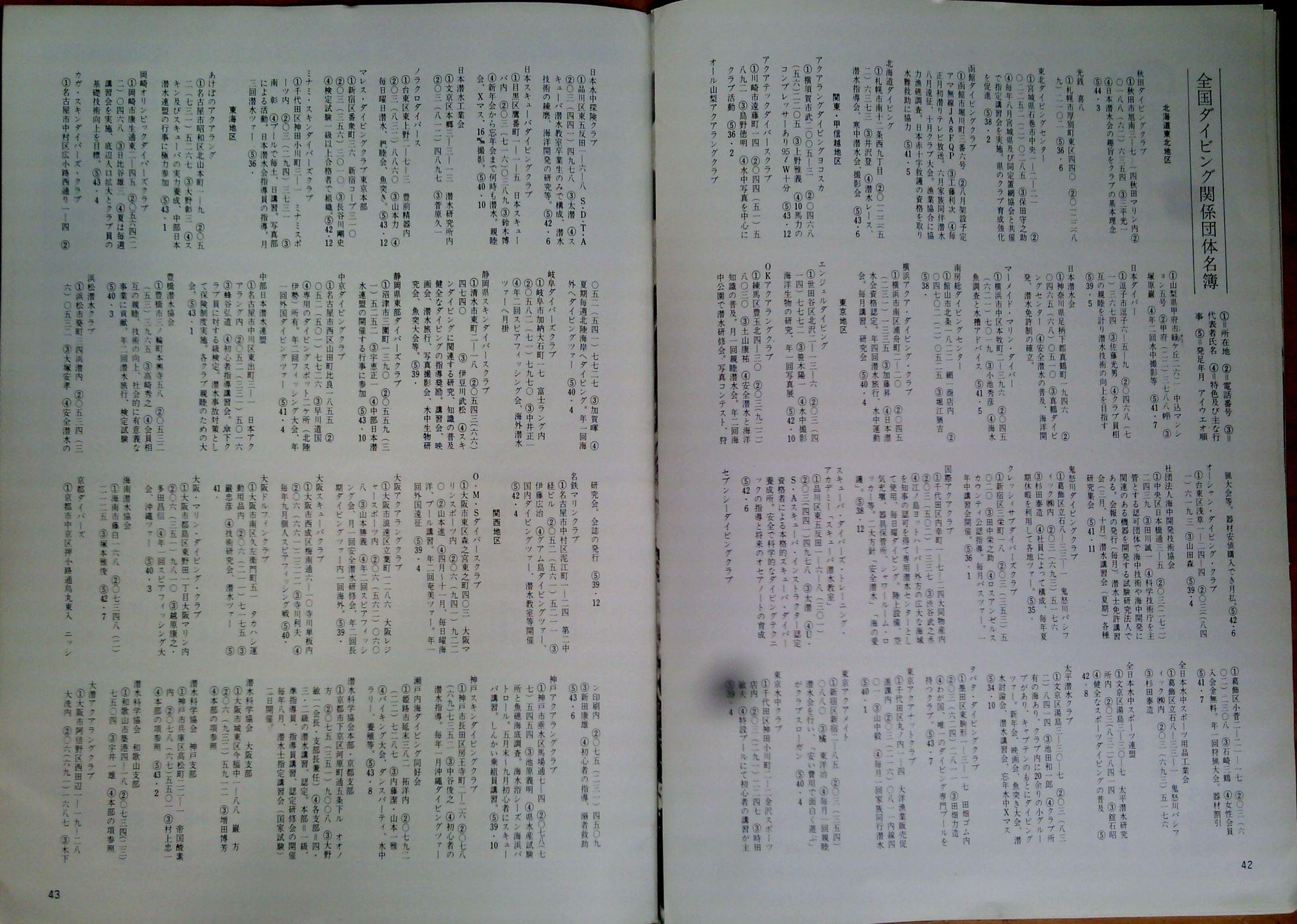 0323  ダイビングの歴史56  マリンダイビング創刊1969_b0075059_14305774.jpg