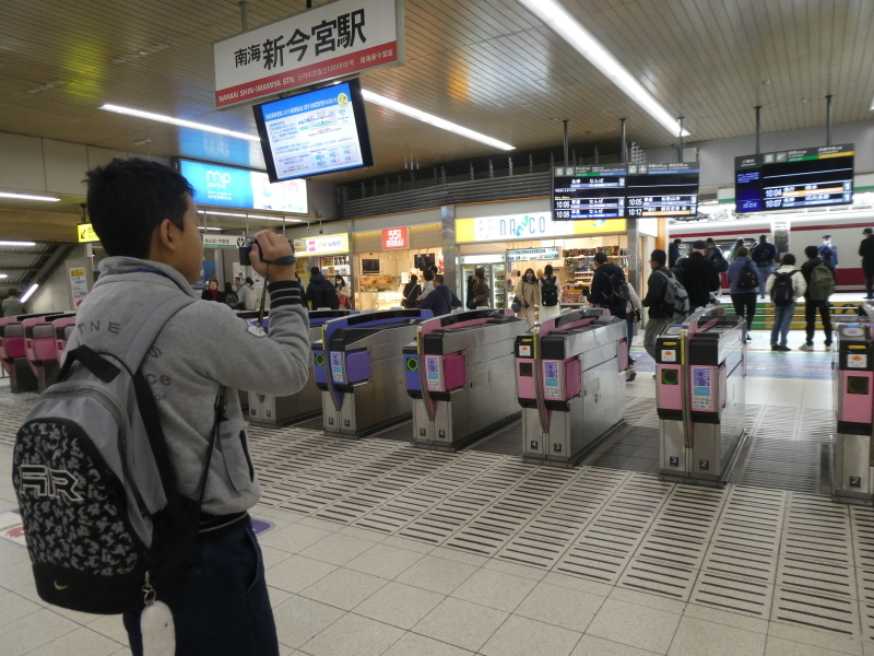 大阪城に孫と行ってきました_c0108460_18373419.jpg