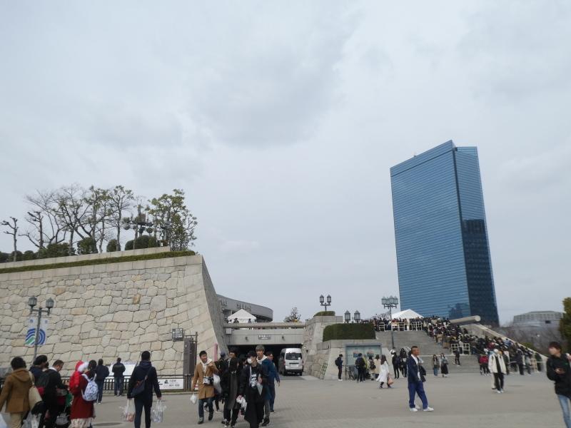 大阪城に孫と行ってきました_c0108460_18400930.jpg