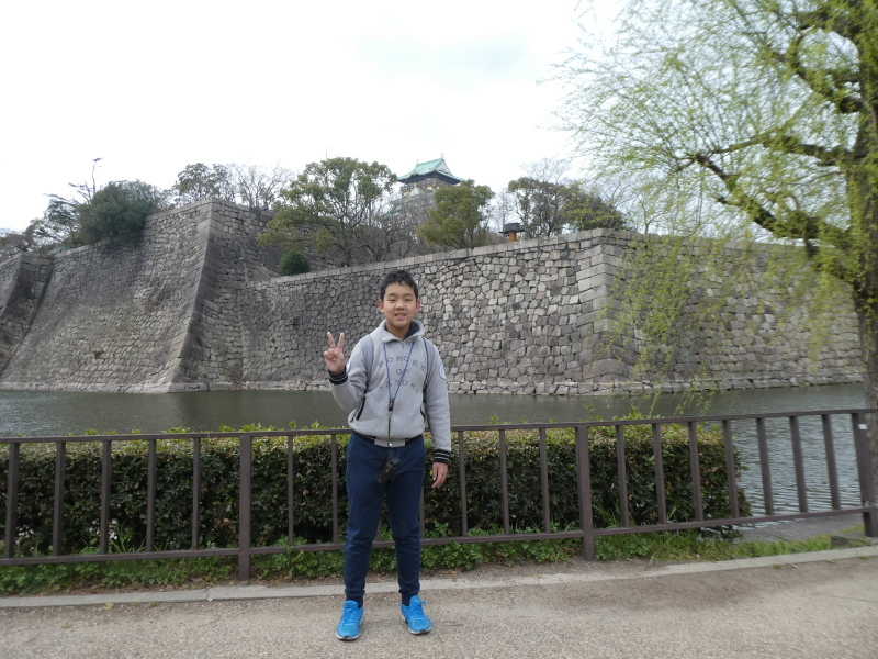 大阪城に孫と行ってきました_c0108460_18405795.jpg