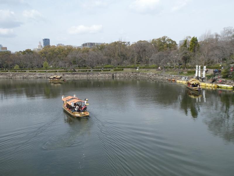 大阪城に孫と行ってきました_c0108460_18414114.jpg