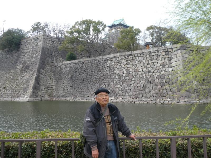 大阪城に孫と行ってきました_c0108460_18424297.jpg