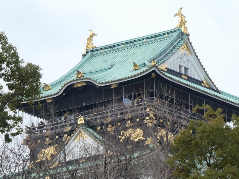 大阪城に孫と行ってきました_c0108460_18424307.jpg