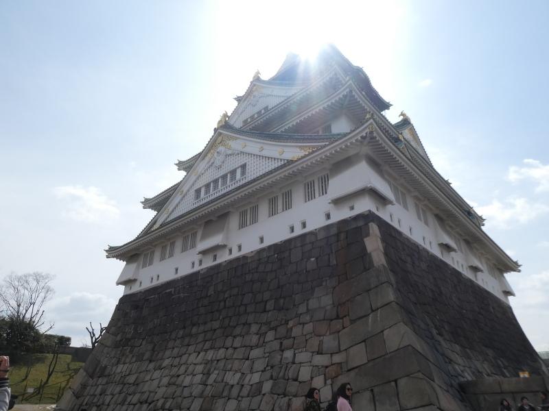 大阪城に孫と行ってきました_c0108460_18434660.jpg