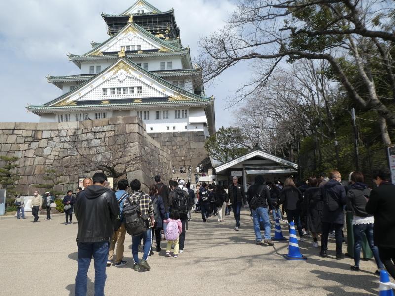 大阪城に孫と行ってきました_c0108460_18444829.jpg