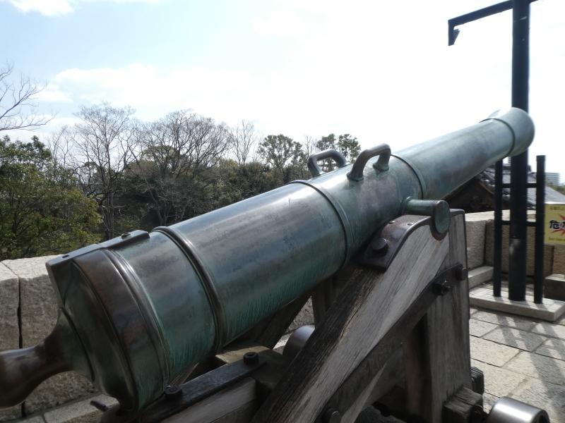 大阪城に孫と行ってきました_c0108460_18454962.jpg