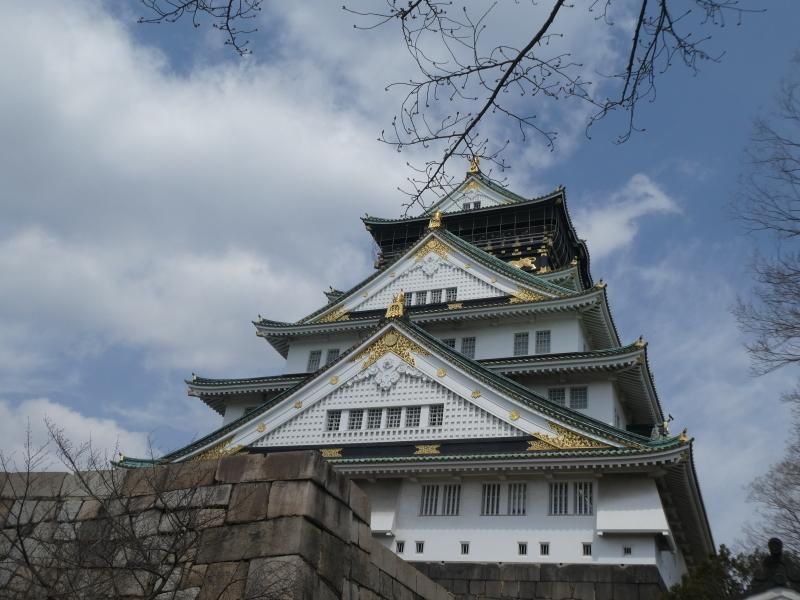 大阪城に孫と行ってきました_c0108460_18455044.jpg