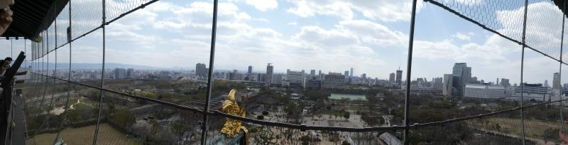 大阪城に孫と行ってきました_c0108460_18503311.jpg