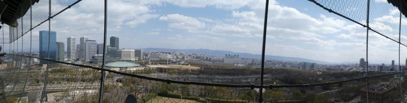大阪城に孫と行ってきました_c0108460_18503487.jpg