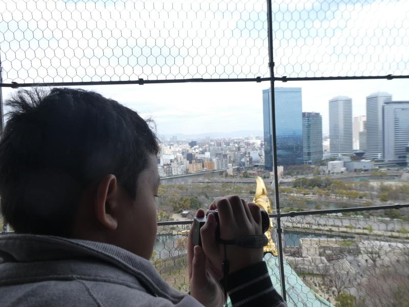 大阪城に孫と行ってきました_c0108460_18515316.jpg
