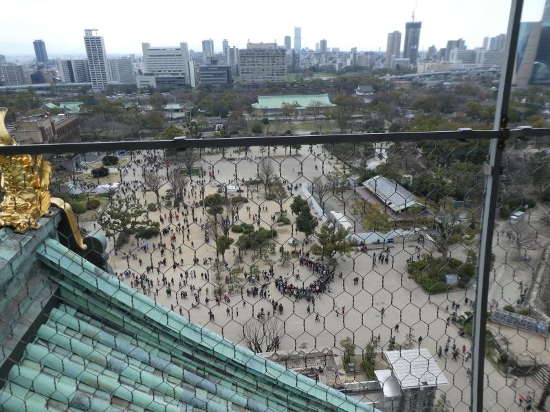 大阪城に孫と行ってきました_c0108460_18515455.jpg