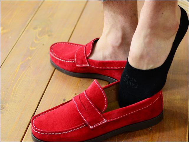 FALKE[ ファルケ] STEP/ステップ [14625] MEN\'S 裸足に見せるスニーカーソックス、アンクルソックス スリッポン、ローファーなどに最適_f0051306_17550930.jpg