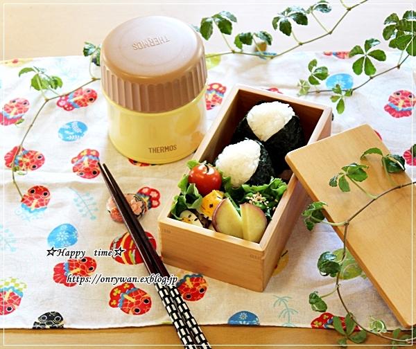 明太子おむすびとおでん弁当と今週の作りおき♪_f0348032_18025145.jpg