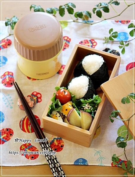 明太子おむすびとおでん弁当と今週の作りおき♪_f0348032_18025818.jpg