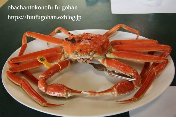 越前蟹食べに行って来た~もう、ぎりぎり~(^_^)v&春のお彼岸さんの牡丹餅_c0326245_13250487.jpg