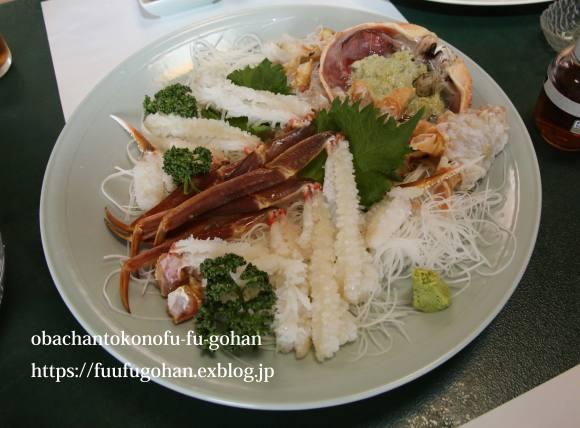 越前蟹食べに行って来た~もう、ぎりぎり~(^_^)v&春のお彼岸さんの牡丹餅_c0326245_13254030.jpg