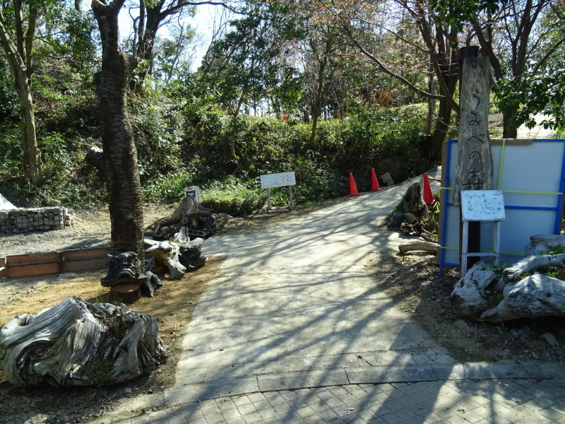 災害復旧工事終了⇒周辺の整備作業に取り掛かった・・・うみべの森_c0108460_18332470.jpg