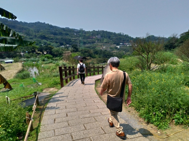 台湾旅行 (3) 猫空ロープウェイで登って樟樹歩道で茶畑を散歩する_f0100593_16483125.jpg