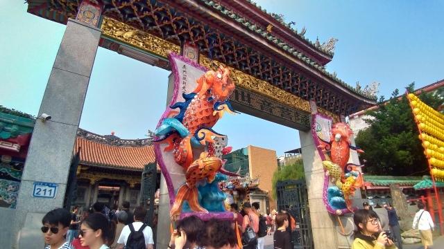 台湾旅行 (4) 目指せ開運、指南宮と龍山寺のお寺巡り_f0100593_17073884.jpg