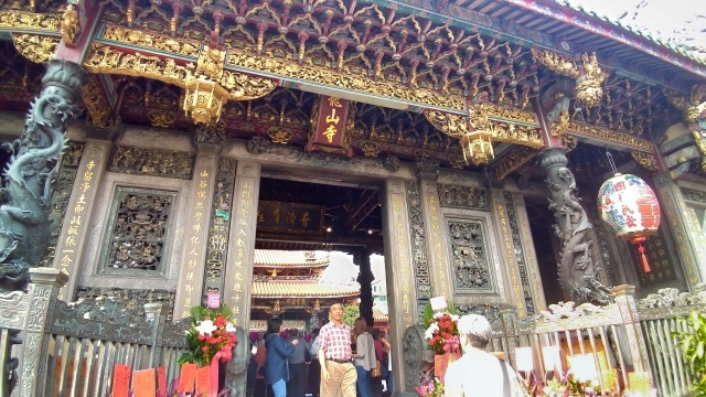 台湾旅行 (4) 目指せ開運、指南宮と龍山寺のお寺巡り_f0100593_17074602.jpg