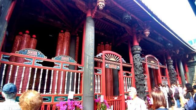 台湾旅行 (4) 目指せ開運、指南宮と龍山寺のお寺巡り_f0100593_17081277.jpg