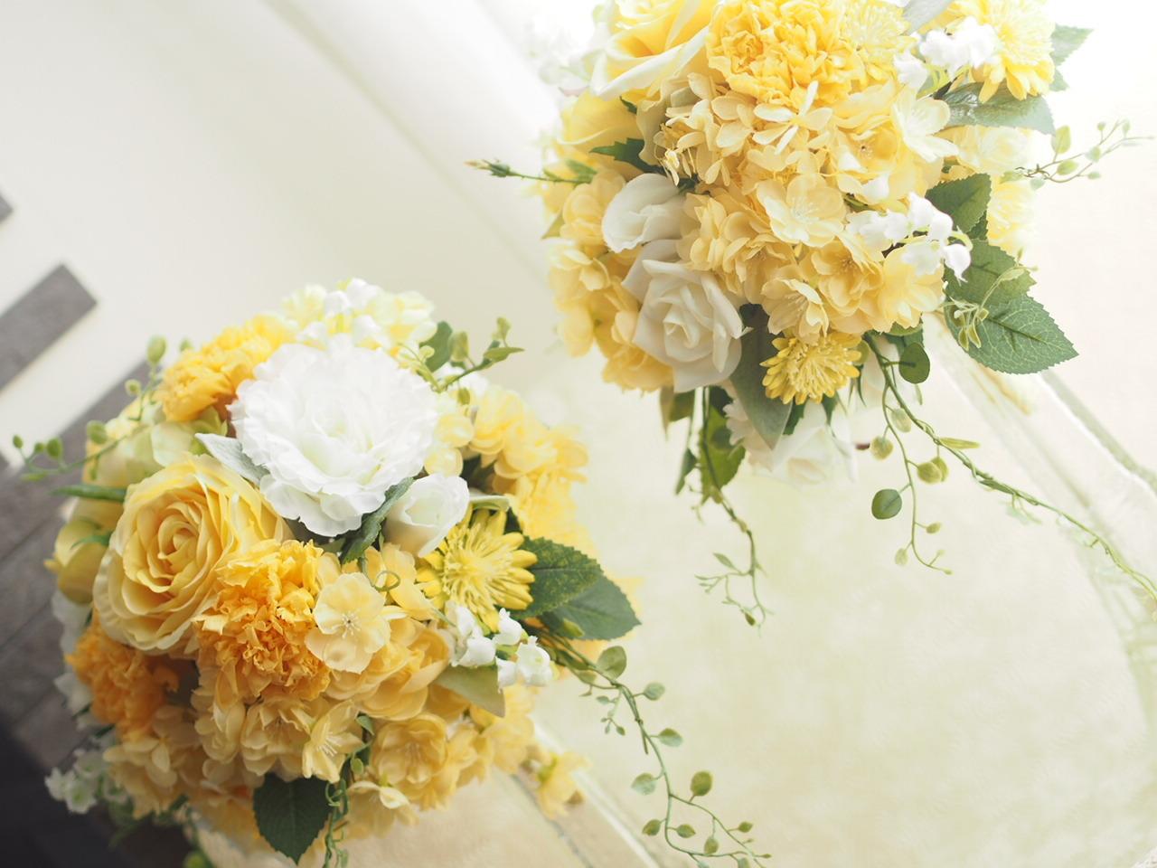 【Round bouquet】_d0144095_19393322.jpg